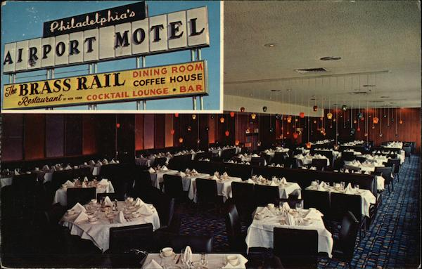 Airport Motel - Brass Rail Dining Room Philadelphia Pennsylvania