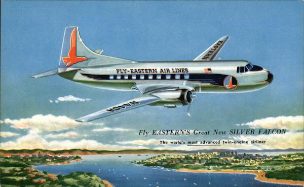 Silver Falcon - Eastern Air Lines Aircraft