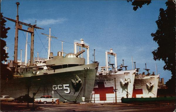 U.S. Naval Base- SHips of Philadelphia Group, Atlantic Reserve Fleet Pennsylvania