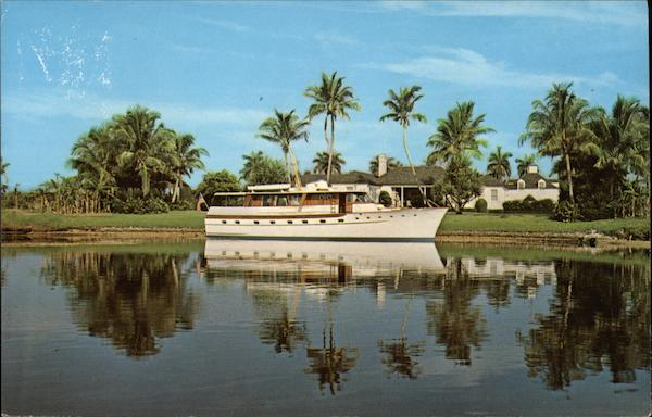 Privateer IV, Port Royal with Administration Building, Harbour House in Background Naples Florida