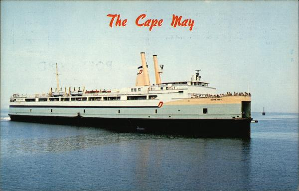 The Cape May New Jersey Ferries