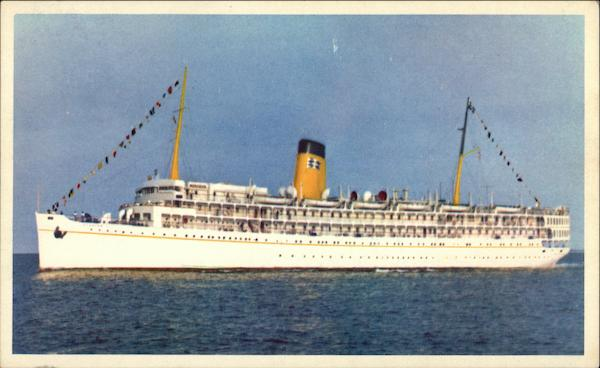 SS Florida - Fully Air Conditioned - P&O Steamship Company Miami
