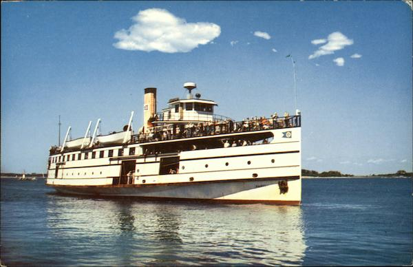 Martha's Vineyard and Nantucket - Twin Steamers