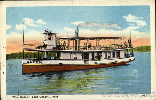 The Queen on the Water Lake Okoboji Iowa