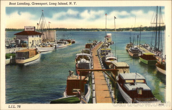 Boat Landing Greenport New York