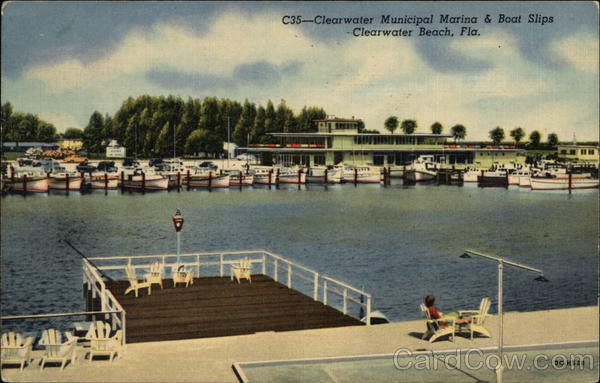 Clearwater Municipal Marina & Boat Slips Clearwater Beach Florida