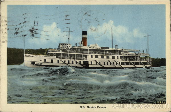 S.S. Rapids Prince - Canada Steamship Lines Steamers