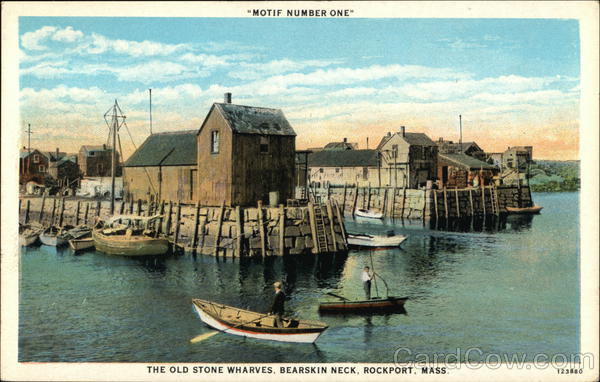 Old Stone Wharves, Bearskin Neck