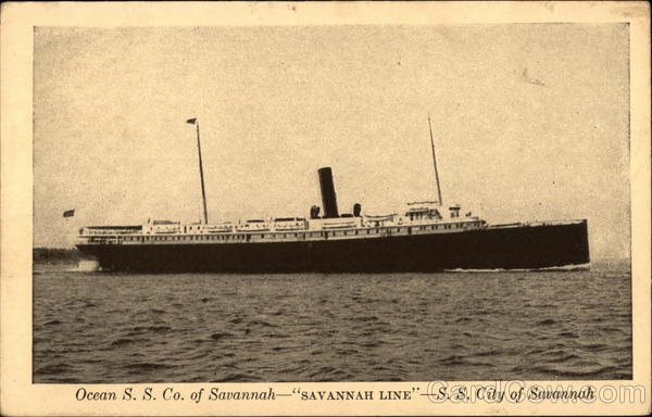 S. S. City of Savannah Georgia