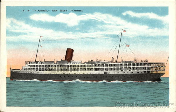 SS Florida Key West