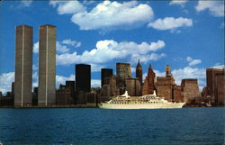 World Trade Center Postcard