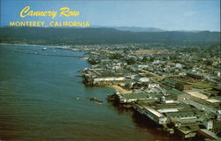 Aerial View showing Famed Cannery Row