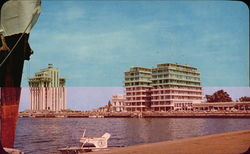 The Emporio Hotel and Malecon from the Docks