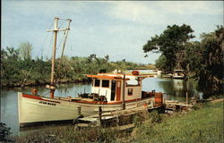"Bayou Country and Fishing Boat ""Jean Marie"""