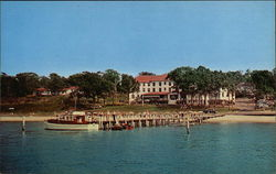 Hotel Pridwin on Peconic Bay Postcard