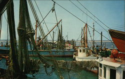 Commercial Fishing Boats - Shinnecock Bay