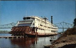 Sternwheeler on the River