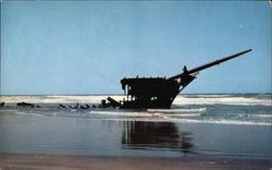 "Wreck of the ""Peter Iredale"""