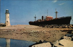 """Etrusco"" Aground at Sand HIlla"