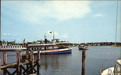 View of Hyannis inner harbor from Ocean Street Wharf