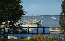 "Captain Les Mayne's Swan Creek Marina at Gratitude Point - View of ""A"" Pier"