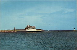 "Ferry Boat ""Manitou"" - Old Harbor"