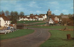 Village Centre Postcard
