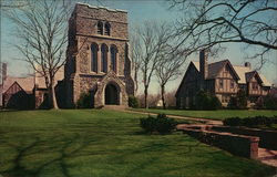 St. Luke's Episcopal Church and Rectory Postcard