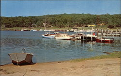 View of the Town Dock Postcard