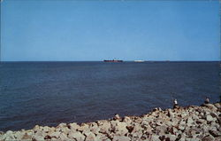 Ships Entering Galveston Harbor