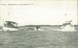 A Boat Race off Long Island