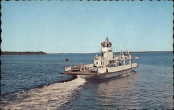 "The ""Governor Muskie"" Plying the Waters of Penobscot Bay"