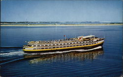 Boston Belle Approaching Provincetown Postcard