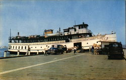 "The ""Yankee"" at Dock Postcard"