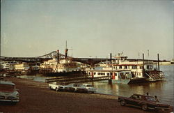 Riverfront - Riverboats New and Old