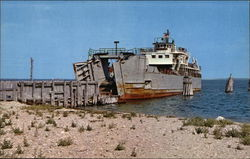 Plum Island Ferry Postcard