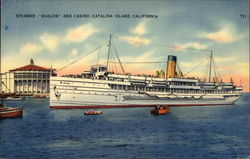 "Steamer ""Avalon"" and Casino"