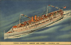 "Yankee Flagships ""Arrow"" and ""Comet"" - Colonial Line"