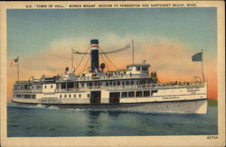 "SS ""Town of Hull"" - Rowes Wharf, Boston to Pemberton"