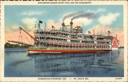 Excursion Queen Saint Paul on the Mississippi - Streckfus Steamers, Inc