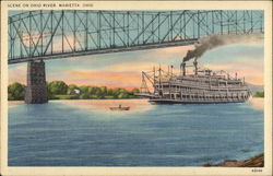 Scene on the Ohio River