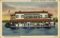 "Excursion Boat ""Queen Mary"" on Lake Hamilton"