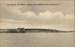 The Bridge to North Haven on Long Island
