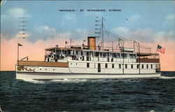 "Excursion Steamer ""Moonglo"""