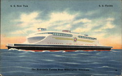 SS New York - SS Florida - The Newcastle Ferries