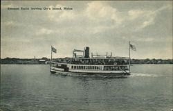 Steamer Emita on the Water