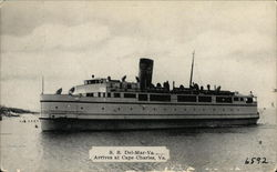 SS Del-Mar-Va on the Water