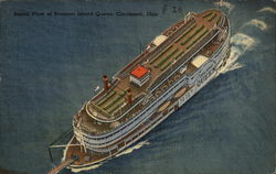 Aerial View of Steamer Island Queen