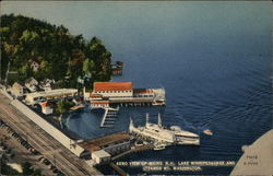 Lake Winnipesaukee and Steamer Mt. WAshington Postcard