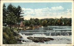 The Landing, Contoocook River Park Postcard